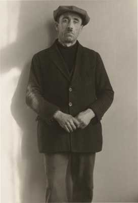 Welfare Recipient, 1930. August Sander. Gelatin Silver Print, NGA Collection.